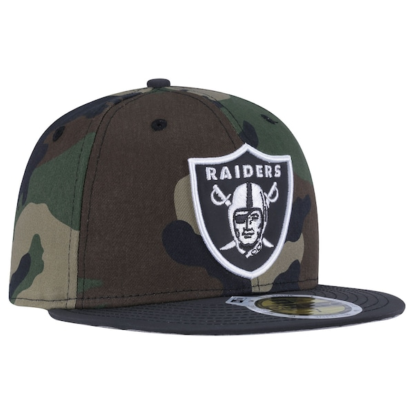 Boné Aba Reta New Era Oakland Raiders - Fechado - Adulto