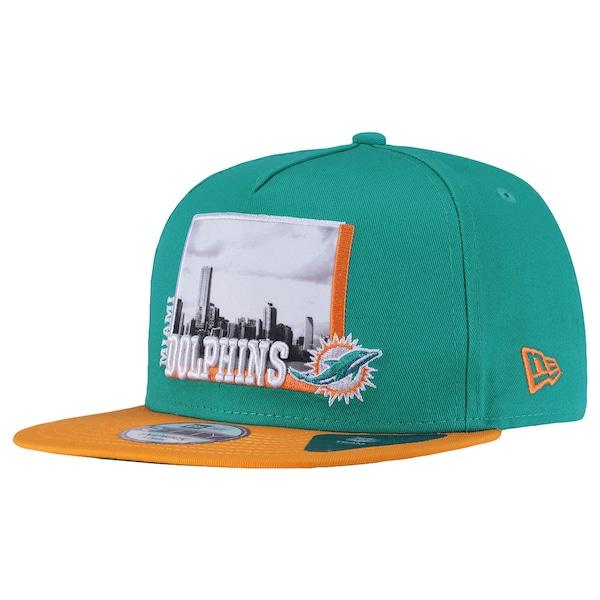 Boné Aba Reta New Era Miami Dolphins - Snapback - Adulto