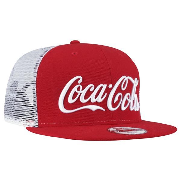 Boné Aba Reta New Era Coca-Cola Entregador - Snapback - Trucker - Adulto