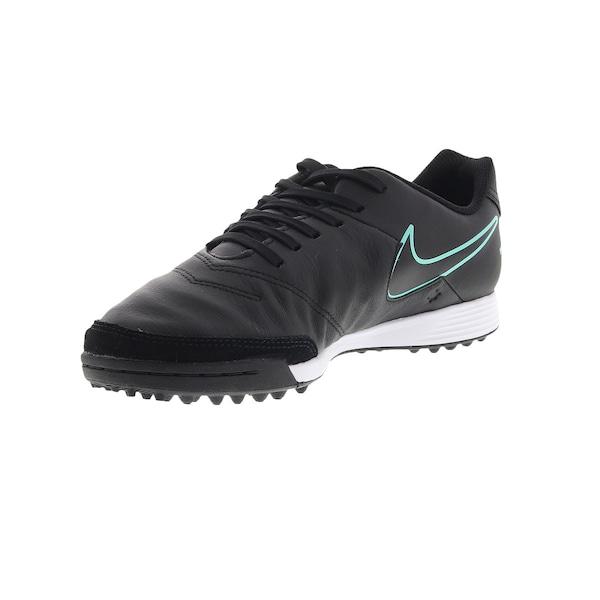Chuteira Society Nike Tiempo Gênio II Leather TF - Adulto