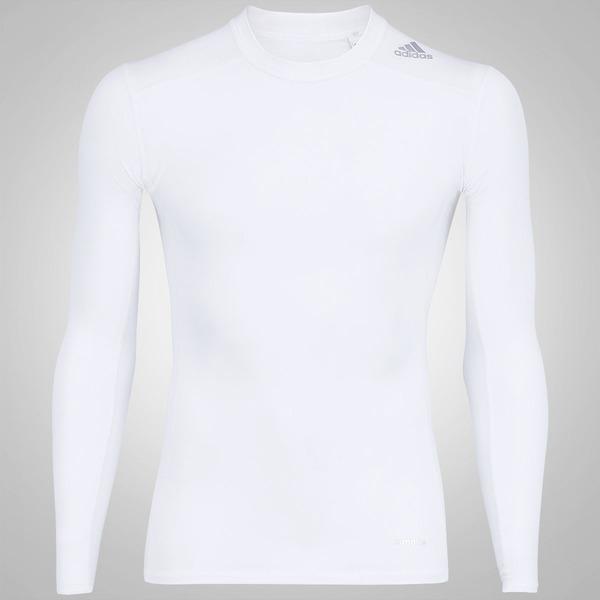 1932dc7c5b Camisa de Compressão Manga Longa adidas TechFit™ Base - Masculina ...