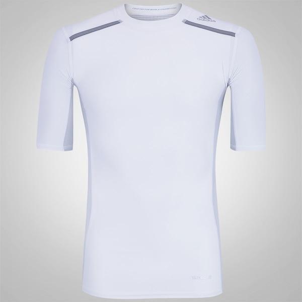 c3ef4ed577561 Camisa de Compressão adidas TechFit Chill - Masculina