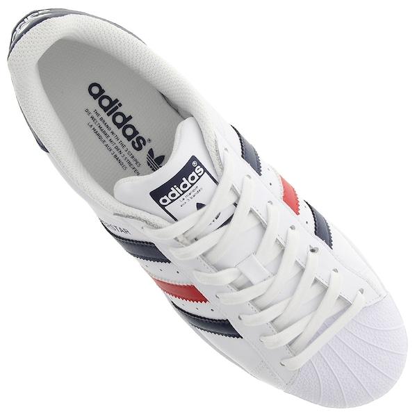 722c2fc8337 Tênis adidas Superstar Foundation Masculino