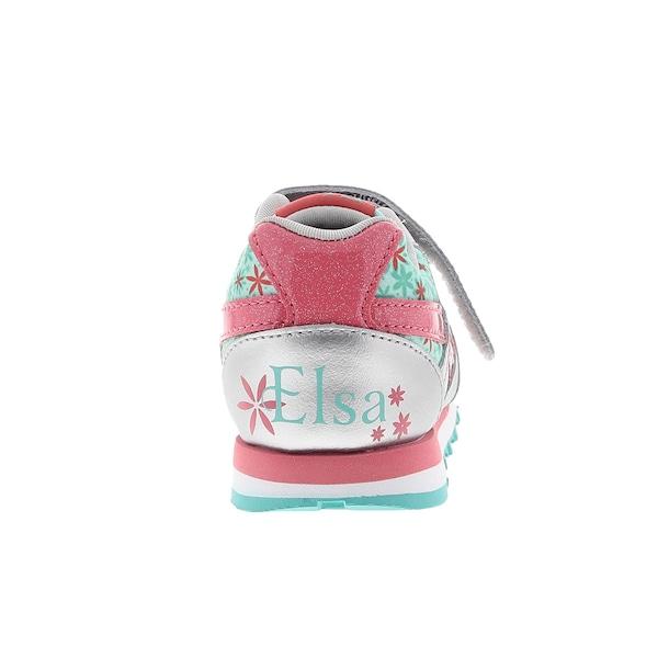 2b4a7b2c49 Tênis Reebok Disney Frozen Elsa Runner Tira Velcro Infantil