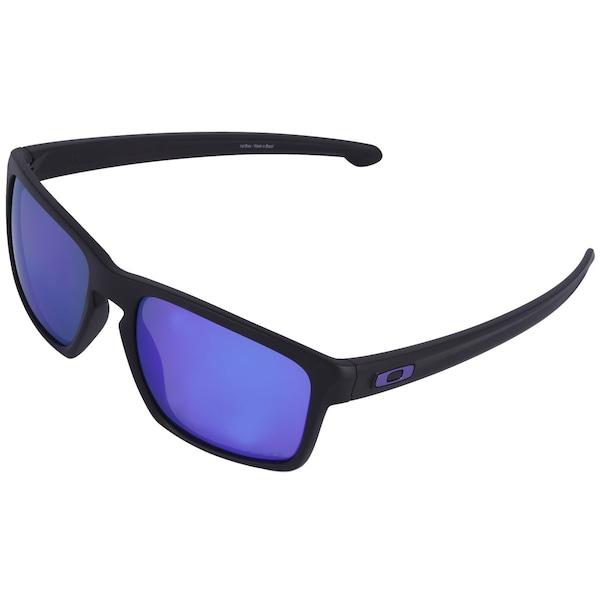 Óculos de Sol Oakley Sliver Iridium Polarizado - Unissex