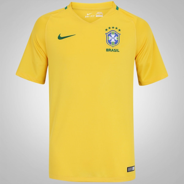 920cc570b3881 Camisa do Brasil I 2016 Nike - Masculina ...