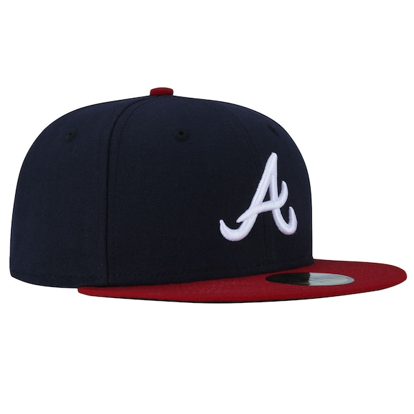 Boné Aba Reta New Era Atlanta Braves MLB - Feachado - Adulto