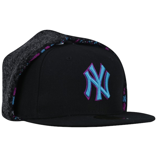 Boné Aba Reta New Era 59FIFTY New York Yankees MLB Dog Ear - Fechado - Adulto