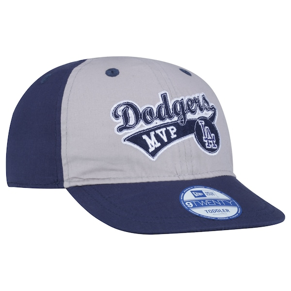 Boné New Era 9TWENTY Los Angeles Dodgers MVP MLB Toddler - Fechado - Infantil