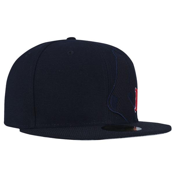 Boné Aba Reta New Era 59FIFTY Boston Red Sox MLB - Fechado - Adulto