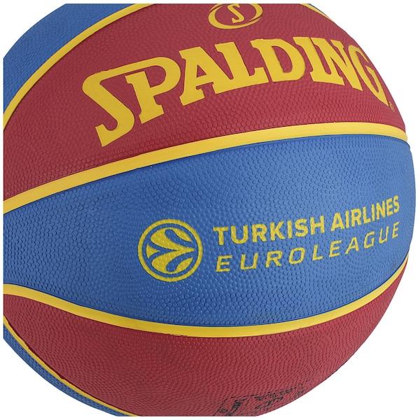 Bola de Basquete Spalding EuroLeague Barcelona