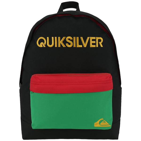 Mochila Quiksilver Basic Rasta