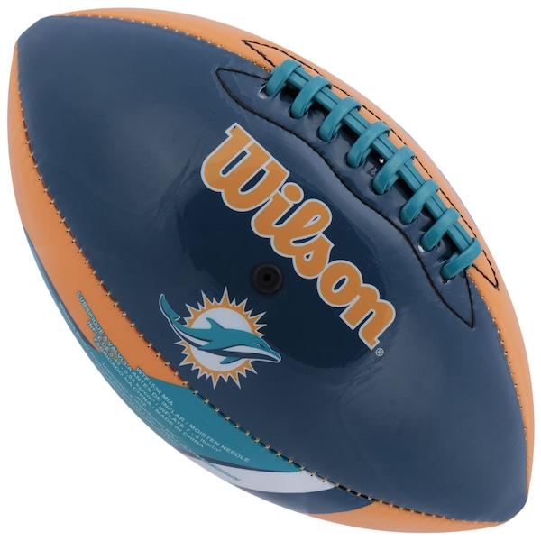 Bola de Futebol Americano Wilson NFL Team Miami Dolphins