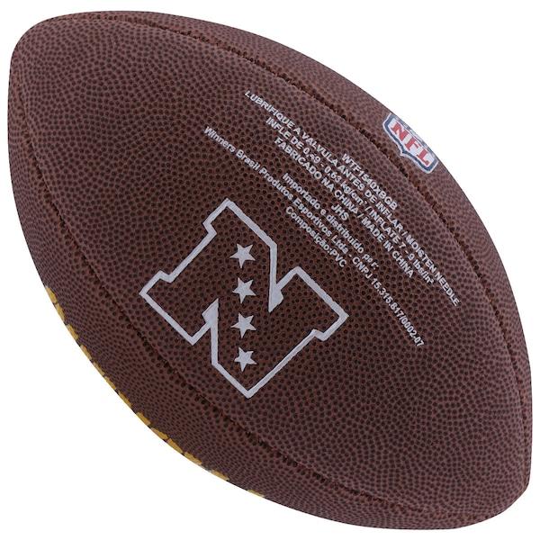Bola de Futebol Americano Wilson NFL Team Green Bay Packers