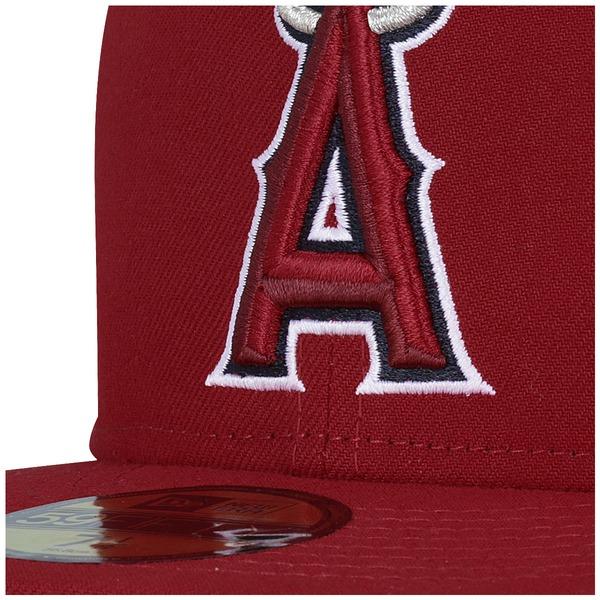 Boné Aba Reta New Era Los Angeles Angels of Anaheim -  Fechado - Adulto
