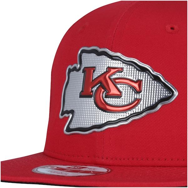 Boné Aba Reta New Era 9FIFTY Kansas City Chiefs Draft NFL Team - Snapaback - Adulto