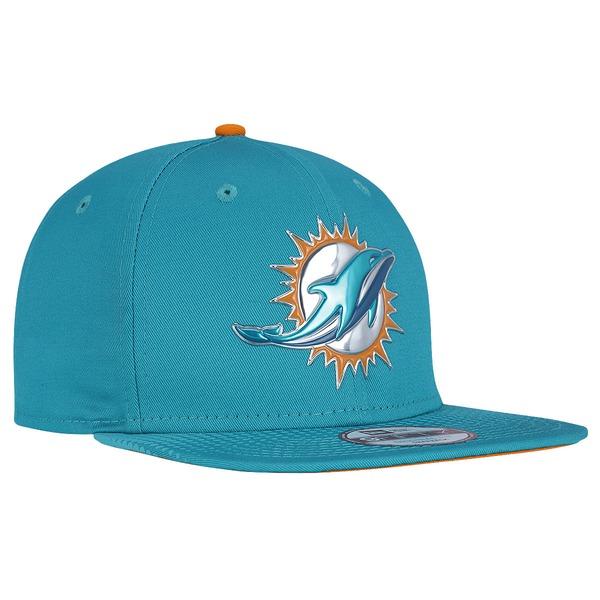 Boné Aba Reta New Era Miami Dolphins Draft NFL Team - Snapback - Adulto