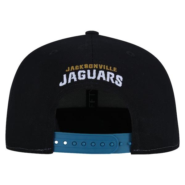Boné Aba Reta New Era 9FIFTY Jacksonville Jaguars NFL Gray/Black- Snapback - Adulto