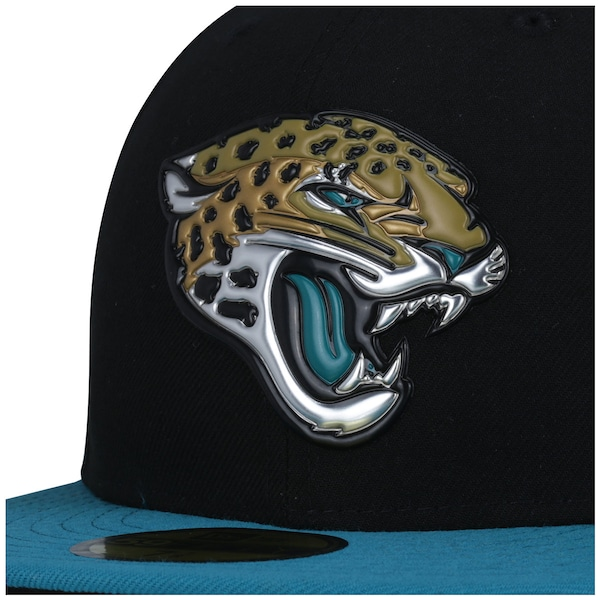 Boné Aba Reta New Era 59FIFTY Jacksonville Jaguars NFL Black- Fechado - Adulto