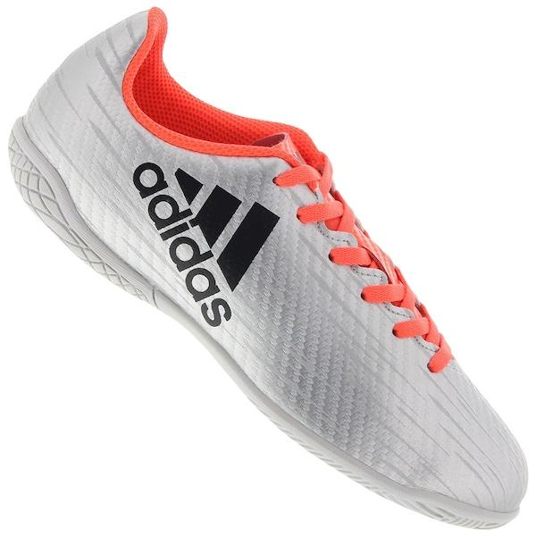 69162ab2e2f27 Chuteira Futsal adidas X 16.4 IN - Infantil - Flamengo Loja