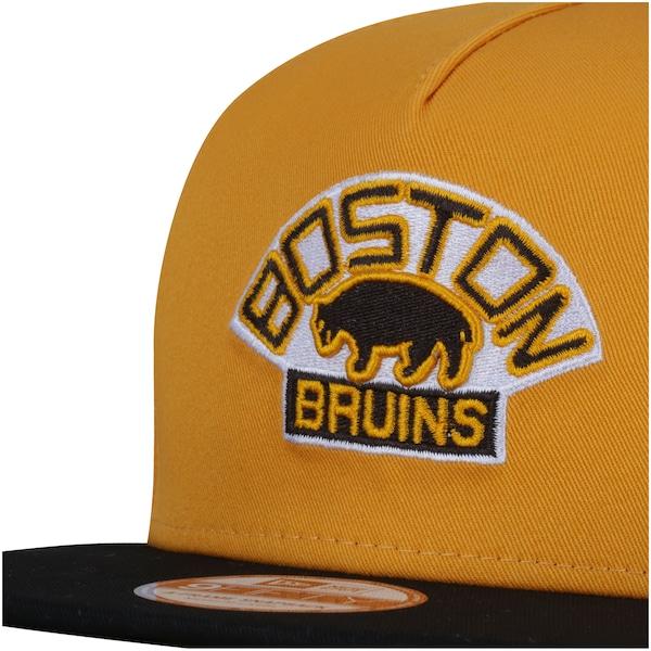 Boné Aba Reta New Era 9FIFTY Boston Bruins Vintage NHL - Snapback - Adulto