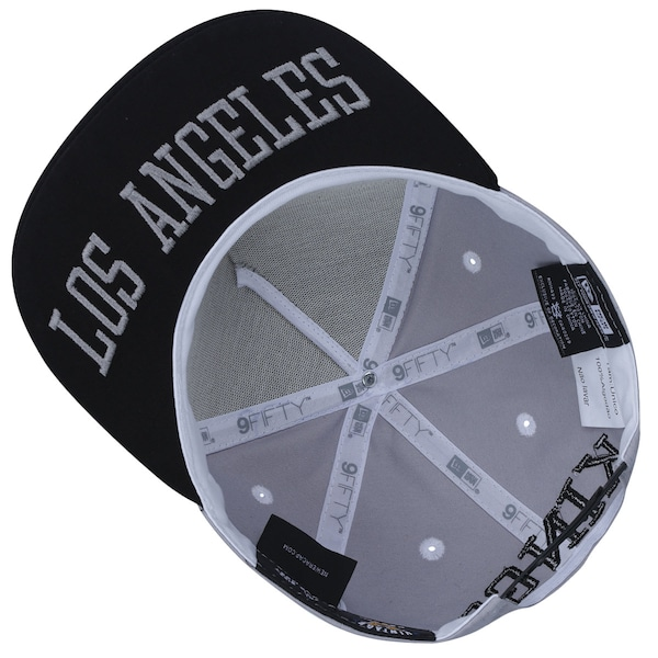 a7f35cc507625 ... Boné Aba Reta New Era 9FIFTY Los Angeles Kings Frame NHL - Snapback -  Adulto