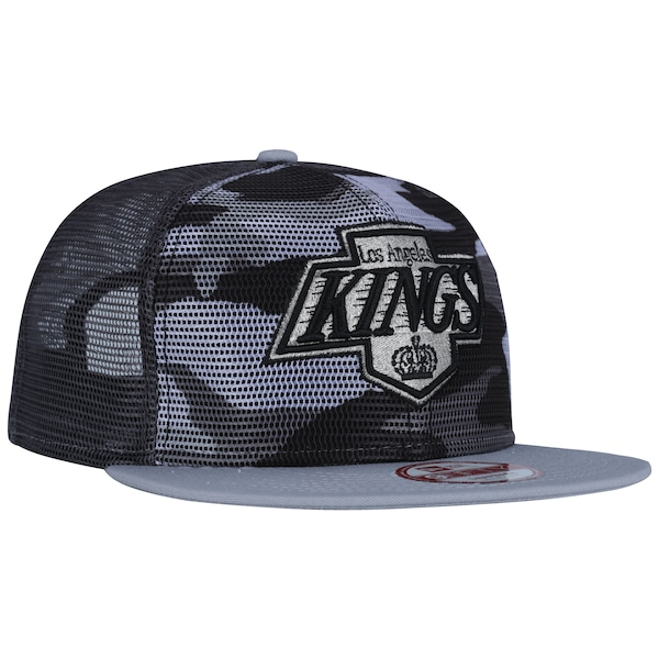 Boné Aba Reta New Era 9FIFTY Los Angeles Kings Vintage NHL - Trucker - Snapback - Adulto