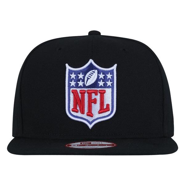 Boné Aba Reta New Era 9FIFTY NFL Shild Black- Snapback - Adulto