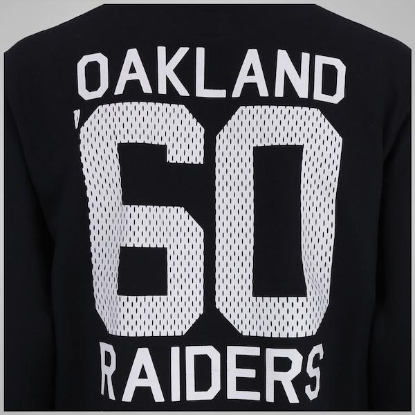 2ee60bfecf434 ... Blusão de Moletom com Capuz New Era Oakland Raiders NFL Team - Masculino