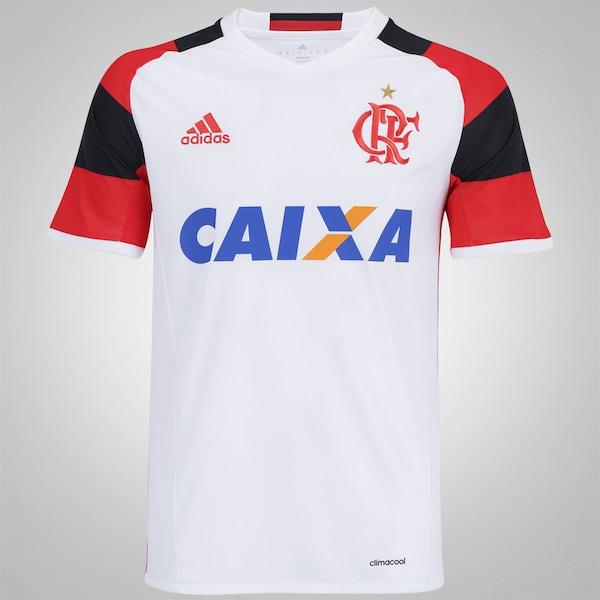 a940fa91597d7 Camisa do Flamengo II 2016 adidas - Masculina