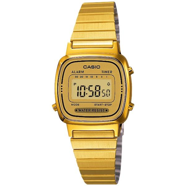Relógio Digital Casio Vintage LA670WGA - Unissex