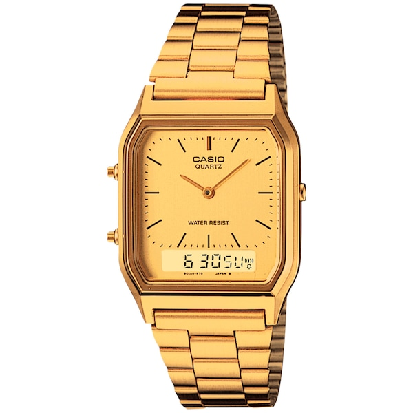 Relógio Digital Analógico Casio Vintage AQ230GA - Masculino