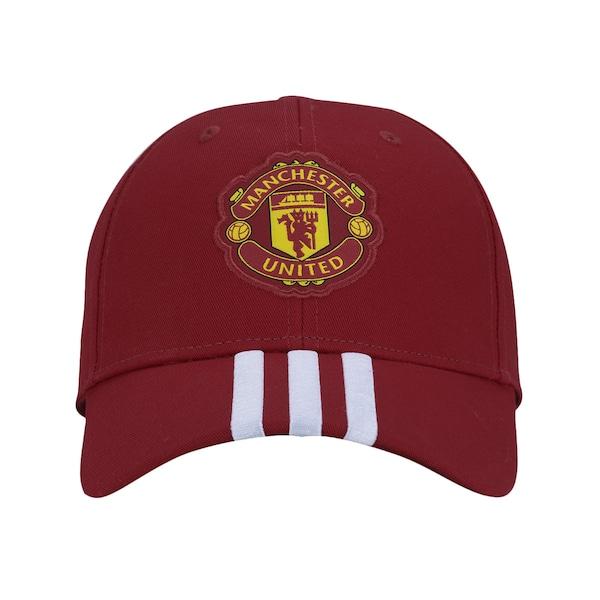 Boné Aba Curva Manchester United 3S adidas - Strapback - Adulto