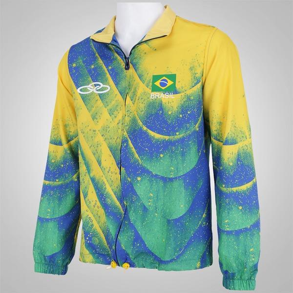 620efa27cdf98 Jaqueta do Brasil Olympikus 2016 - Feminina