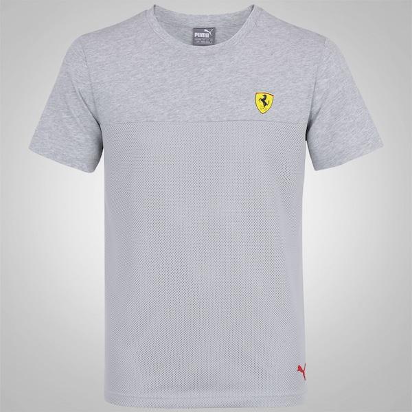 Camiseta Puma Scuderia Ferrari Basic - Masculina ebd83e2b47b