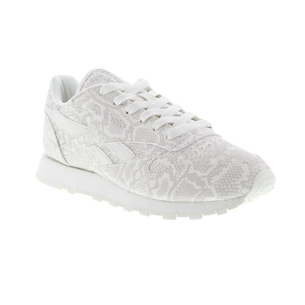 407af85190f Tênis Reebok CL Leather Snake - Feminino