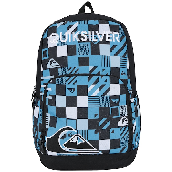 Mochila Quiksilver Real Genius Checked