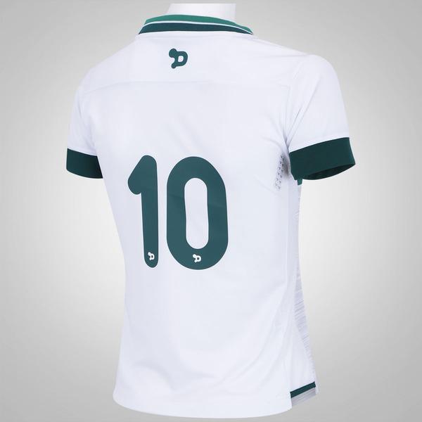 f82b68b536 Camisa do Goiás II 2016 nº 10 Dryworld - Feminina