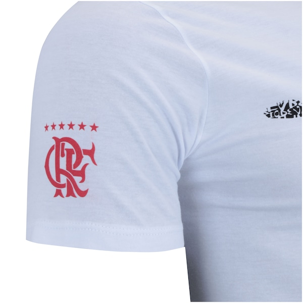 50086c9dd9605 Camiseta do Flamengo Braziline Cristo Redentor - Masculina