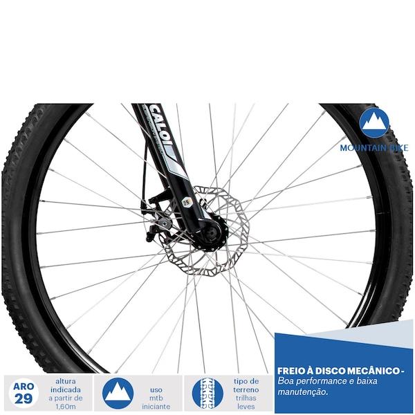 c2ea72a06 Mountain Bike Caloi Lotus - Aro 29 - Freio a Disco - 21 Marchas - Feminina