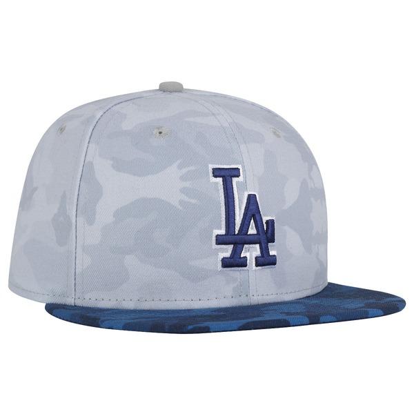 Boné Aba Reta New Era Los Angeles Dodgers Camuflado - Fechado - Adulto