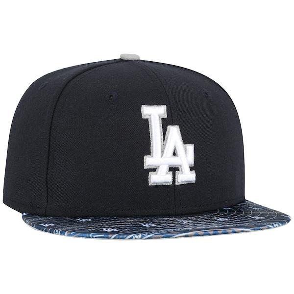 Boné Aba Reta New Era Los Angeles Dodgers Fair Isle - Fechado - Adulto