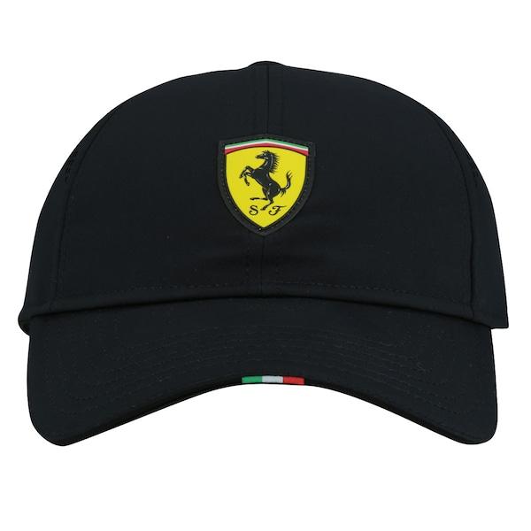 Boné Puma Scuderia Ferrari Fanwear Force - Fechado - Adulto