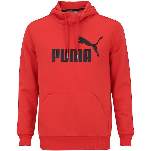 Blusão de Moletom com Capuz Puma Ess No.1 Hoody FL - Masculino