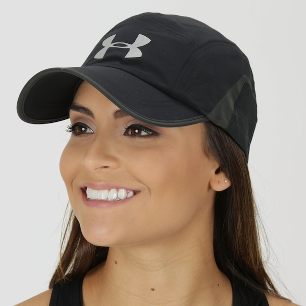 Boné Under Armour Pinnacle Run - Strapback - 5 Panel - Adulto