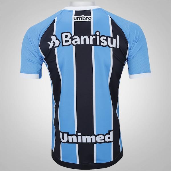 a97302bffe6ce Camisa do Grêmio I 2017 Umbro - Masculina