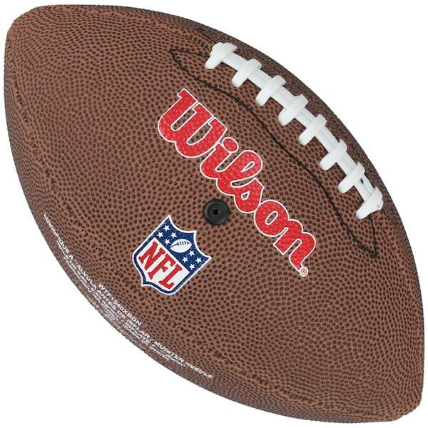 85ee32d826 Bola de Futebol Americano Wilson Denver Broncos Team Logo