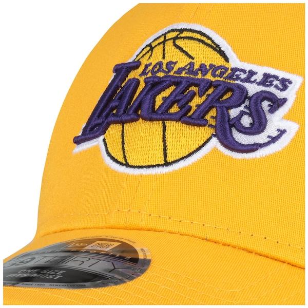 Boné New Era 3930 Los Angeles Lakers Official - Fechado - Adulto