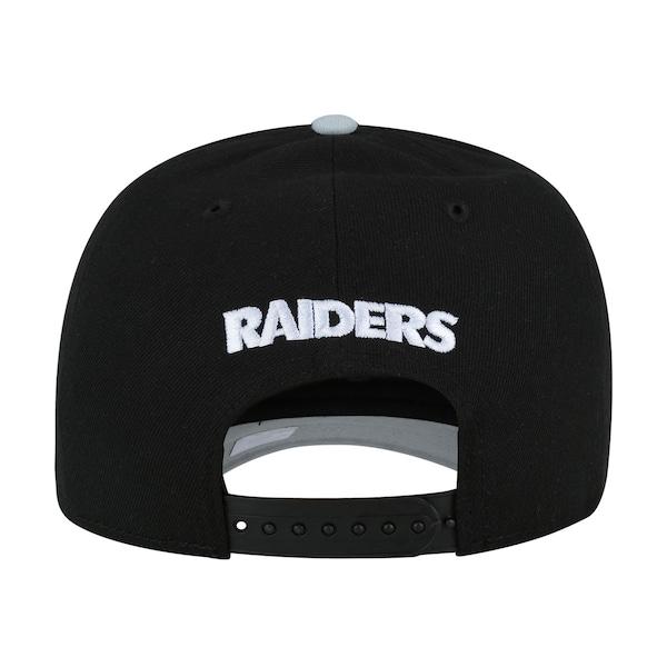 82ef0f9796bef Boné Aba Curva New Era Oakland Raiders Basic - Snapback - Adulto