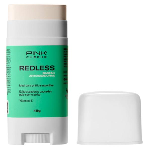 Bastão Anti Assaduras com Filtro Solar Pink Cheeks Redless - 45g